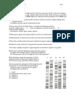 Applied Genetics Questions