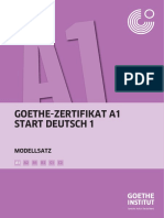 Start Deutsch 1 Modellsatz