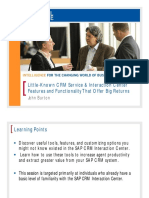 0113 Little-Known CRM Service Interaction Center Features and Functionality That Offer Big Returns