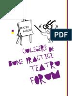 Culegere de Bune Practici - Teatru Forum