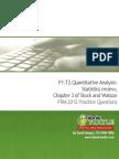 T2.Statistics Review (Stock & Watson)
