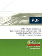 T4.Basic Bond Pricing (Tuckman)