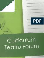 Curriculum Teatru Forum