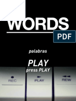 Words Video—Spanish Translation