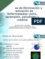 Eliminacion y Erradicacion de Enfermedades