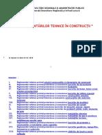Lista Reglementari Tehnice 01012016