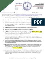 Pembroke Transportation Letter
