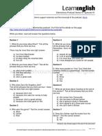 01 01 Support Pack Transcript