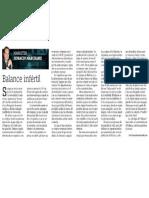 Balance Infertil en Innovacion