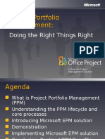 Project Portfolio Management BDM Deck