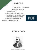 SIMBIOSIS (Presentación Power Point)