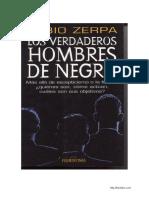 Los Verdaderos Hombres de Negro - Fabio Zerpa