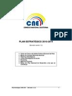 Plan Estrategico CNE