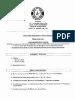 City Council Agenda 04/21/2010