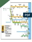 Zone Map Tyneside Metro