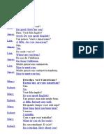 Dialogos Em Inglês