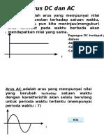 Arus DC dan AC