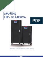 Manual HIP 10-80