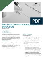 043980 WERKSMANS Legal Brief Best Endeavours