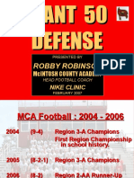 2006 MCA Slant 50 Defense