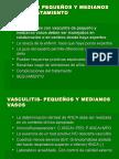 VASCULITIS PEQUEÃ'OS Y MEDIANOS VASOS- TRATAMIENTO.ppt
