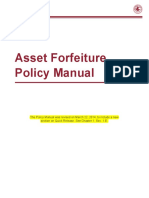 Asset Forfeiture Policy Manual 2013