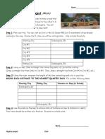 road trip project - algebra