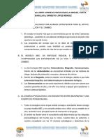 Ideas Importantes Del Libro Consejo Psicologico de Miguel Costa Cabanillas y Ernesto López Méndez