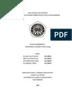 39992350 Macam Macam Akuifer Dan Analisis Kondisi Hirogeologi Kota Banjarbaru m Sadiqul Iman h1e108059