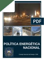 Politica Energetica Nacional CNE