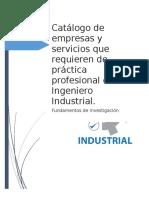 Catalogo de Empresaa