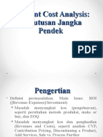 Keputusan Jk Pendek