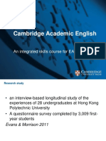 Cambridge Academic English