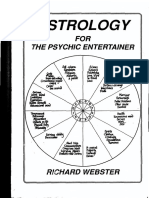 Richard Webster - Astrology for the Psychic Entertainer