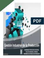 Gestión Industrial de la Producción