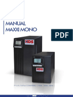 Manual Maxxi Mono