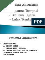 239677925 Trauma Abdomen Dan Thorax Dr Yuzar