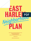East Harlem neighborhood plan
