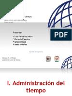 Manejo de Conflictos y Admon Del Tiempo, Sem 2008-1