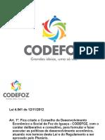 Apresentacao Codefoz (2014.10)