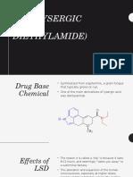 lsd  lysergic acid diethylamide
