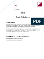 SSR 2 Small Disturbance
