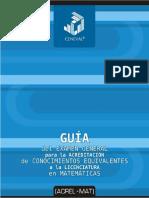 GuiaACREL-MATMatematicas