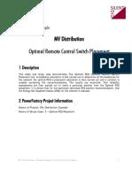 MV 5 Optimal RCS Placement
