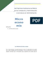 Microeconomía la historia de las cosas