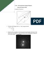 Soal Pre Test Astronomi