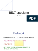 9 14 15 Belt Speaking Class 1 PDF