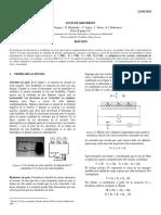 Informes Laboratorio (Leyes de Kirchhof Carga y Descarga de Un Condensador)