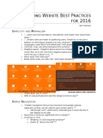 compelling best practices summary