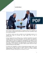 """Obama a Cuba. Sobre los """"consejos"""" de Atilio Borón"""